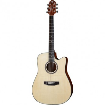 Crafter HILITE-DE SP/SN Acoustic Guitar Natural Finish