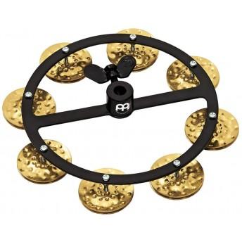Meinl - Headliner Series Hihat Tambourine - Hammered Brass - 1 Row