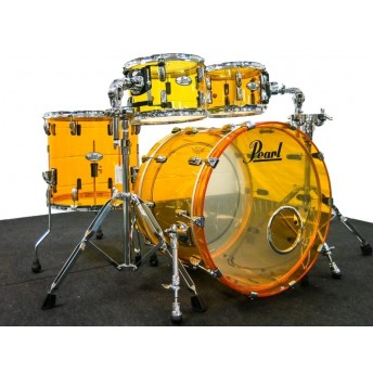 PEARL – CRYSTAL BEAT SERIES 4PCE SHELL KIT – TANGERINE GLASS