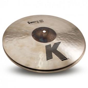 """Zildjian K0720 K Zildjian 14"""" Sweet HiHat Pair Cymbal"""