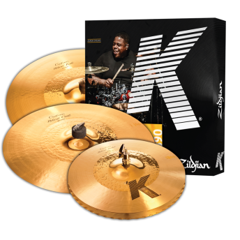 "Zildjian K Custom Hybrid Cymbal Value Pack 14""Hh & 21""Rd Plus Free 17""Cr KCH390"