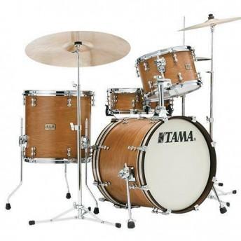 TAMA S.L.P. Vintage Hickory 3 Piece Bop Drum Kit Shell Set