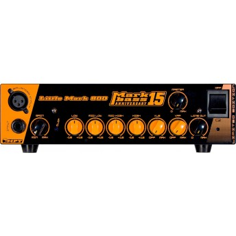Mark Bass Marcus Miller Signature Little Marcus 800 15th Anniversary 800W Bass Amplifier Head