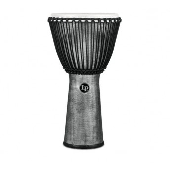 "LP LP725G World Beat FX 12.5"" Rope Tunded Djembe Grey"