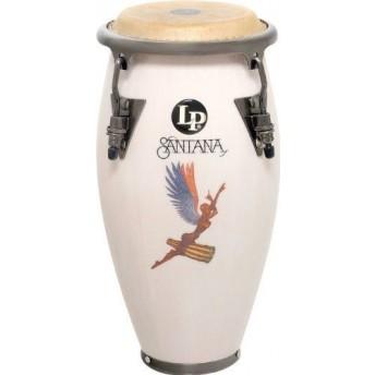 "LP LPM197SNW Santana Abraxas Signature 11"" Mini Conga White"