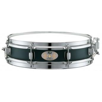 """Pearl Snare Drum Effect Maple 13""""x3"""" Steel Hoop Piano Black"""