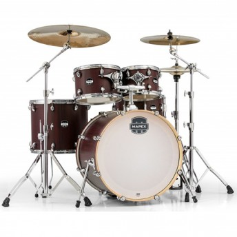 MAPEX MARS SERIES 5PCE ROCK SHELL PACK BLOODWOOD