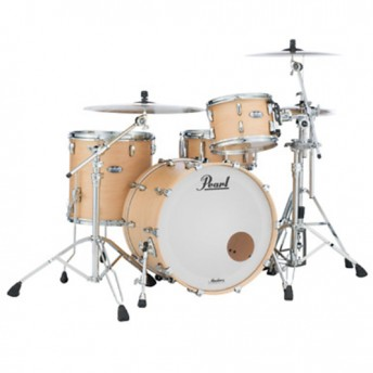 "Pearl Masters Maple Complete 3 Piece Drum Kit 22"" x 16"" Shell Set - Matte Natural"