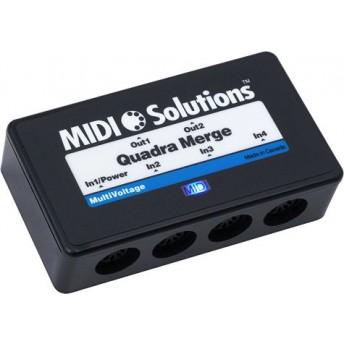 Midi Solutions MultiVoltage Quadra Merge 4 Output Merge Box