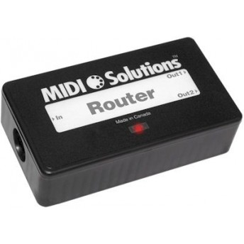 Midi Solutions MultiVoltage 2 Output Midi Router Filter