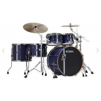 Tama ML52HZBN2 SBV Superstar Hyperdrive Duo Maple 5 Piece Drum Kit Satin Blue