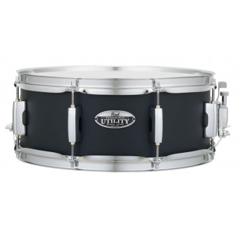 """Pearl Modern Utility Snare Drum 14""""x5.5"""" Maple Black Ice"""