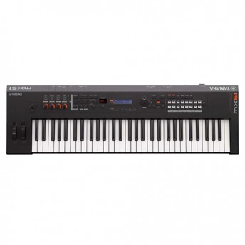Yamaha MX61BK 61-Note Synthesizer - Black