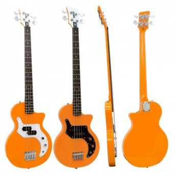 Orange O 4 String Bass Guitar Orange