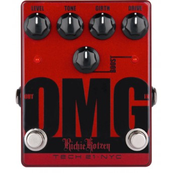 TECH 21 – OMG – SANSAMP RITCHIE KOTZEN SIGNATURE DISTORTION