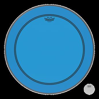 "Remo P3-1324-CT-BU 24"" Colortone PS3 Powerstroke 3 Blue Drum Head Skin"