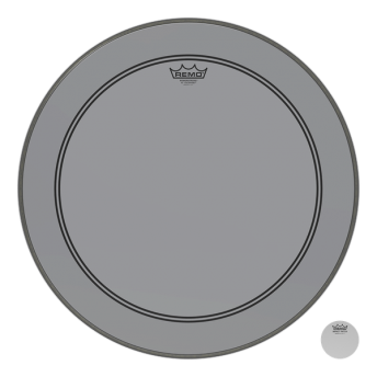 "Remo P3-1322-CT-SM 22"" Colortone PS3 Powerstroke 3 Smoke Drum Head Skin"