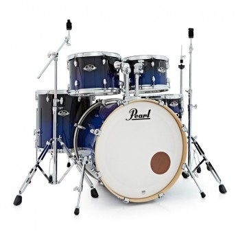 "Pearl Export EXL 20"" Fusion Drum Kit W/Hardware Pack Sea Blue Fade"