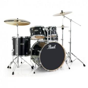 """Pearl Export EXL 22"""" Rock Drum Kit W/Hardware Black Smoke"""
