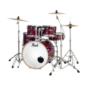 "Pearl Export EXL 22"" Fusion Plus Drum Kit W/Hardware Natural Cherry"