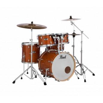 "Pearl Export EXL 22"" Fusion Plus Drum Kit W/Hardware Honey Amber"