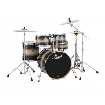 "Pearl Export EXL 22"" Fusion Plus Drum Kit W/Hardware Nightshade Lacquer"