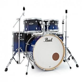 "Pearl Export EXL 22"" Fusion Plus Drum Kit W/Hardware Sea Blue Fade"
