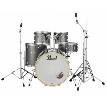 "Pearl Export EXX 22"" Fusion Drum Kit W/Hardware Grindstone Sparkle"