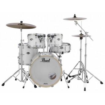 "Pearl Export EXX 22"" Fusion Plus Drum Kit W/Hardware Pure White"