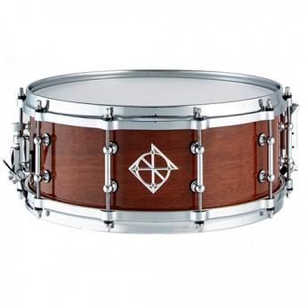 """Dixon Artisan Series 14"""" x 5.5 Australian Rose Gum Snare Drum in Gloss Natural - PDSAN554CBRG"""
