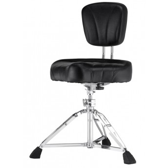 Pearl D-2500BR Drum Throne Stool Roadster D2500BR Wback Rest