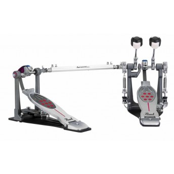 Pearl P2052BL Eliminator Twin Bass Kick Drum Pedal Belt Drive with Case LEFT FOOTED