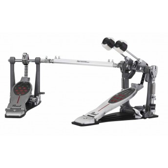 Pearl P2052C Eliminator Twin Bass Kick Drum Pedal Chain Drive with Case