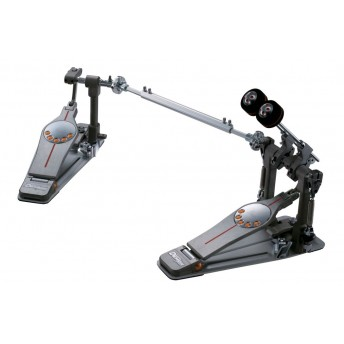 Pearl P3002C Eliminator Demon Chain Twin Bass Kick Drum Pedal with Case