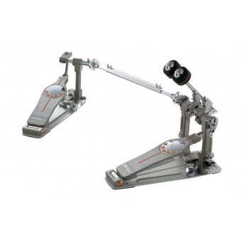 Pearl P3002D Eliminator Demon Drive Twin Bass Kick Drum Pedal with Case