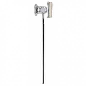 Dixon Precision Coil Bass Drum Beater with Dual Metal and Felt Surfaces - PPBP1HP