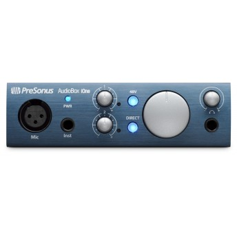 PreSonus Audiobox iOne USB iPad Interface w Studio One & Studio Magic