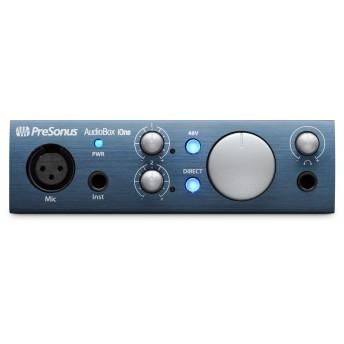 PreSonus Audiobox iOne USB iPad Interface w Studio One & Studio Magic