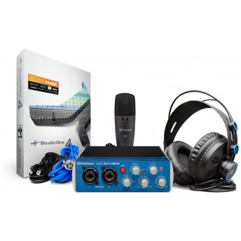 PreSonus AudioBox 96 Studio Complete Hardware-Software Recording Kit Bundle