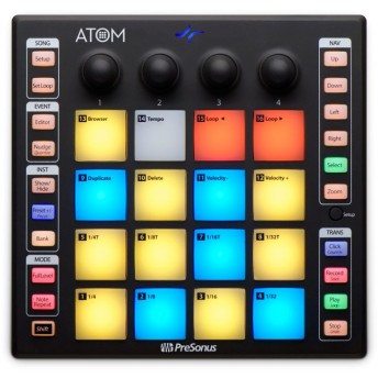 PreSonus ATOM Production and Performance 16 Pad Controller
