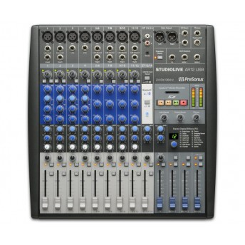 PreSonus StudioLive AR12 14 Channel Hybrid Performance and Recording Mixer