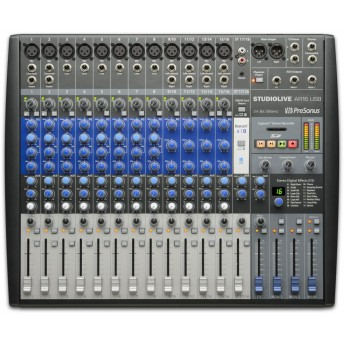 PreSonus StudioLive AR16 16 Channel Hybrid Performance and Recording Mixer