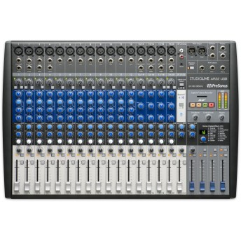 PreSonus StudioLive AR22 USB 22 Channel Hybrid Performance and Recording Mixer
