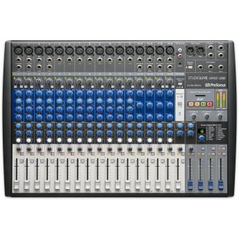 PreSonus StudioLive AR22 USB 22 Channel Hybrid Performance and Recording Mixer