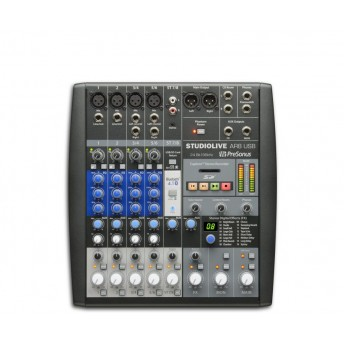 PreSonus StudioLive AR8 8 Channel Hybrid Performance and Recording Mixer