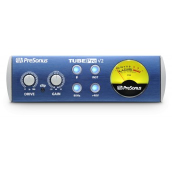 PreSonus TubePre V2 1 Channel Tube Preamplifier and DI Box