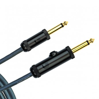 Planet Waves PW-AG-20 Circuit Breaker Momentary Mute Instrument Cable 20 Feet