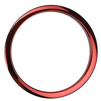 """BASS DRUM O – 6"""" RED BD PORT HOLE"""