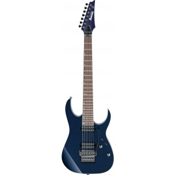 Ibanez RG2027XL DTB 7-String Electric Guitar with Case Dark Tide Blue 2019
