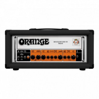 Orange Rockerverb 50H MKIII Black Valve Guitar Amplifier Head